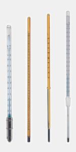 ASTM термометри и прецизни термометри за минерални масла